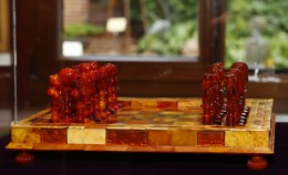 Only from 6 to 13 August our amber chess will be...