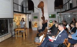 Доклад на семинаре по янтарю в Варшаве